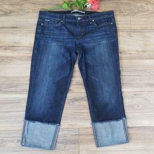 Joe's Jeans 👖 Cuffed crop EUC!! Size 32